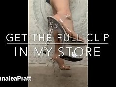 Pay for my shoes, bitch TEASER. Full clip in store for REAL pay pigs video on WebcamWhoring.com
