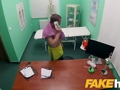 Fake Hospital Masseuse hot wet pussy and squirting orgasms cure backache video on WebcamWhoring.com