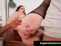 BBW Angelina Castro & Phat Harmonie Marquis Blow & Bang Cock video on WebcamWhoring.com