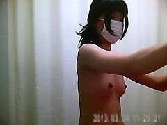 Japanese nurses are in their changing room getting dressed video on WebcamWhoring.com