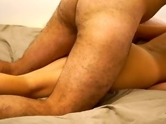 Hard Pounding my Wife's Pussy with her Ograsming video on WebcamWhoring.com