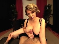 Big Tits Milf Girlfriend Gives You A Handjob In The Theater video on WebcamWhoring.com