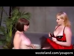 Plump Bimbos In BDSM Games video on WebcamWhoring.com