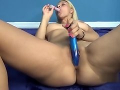 Innocent coed Brianna Johnson toys her hot young pussy video on WebcamWhoring.com