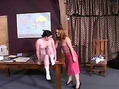 roleplay schoolgirl attends Mistress for hard discipline video on WebcamWhoring.com