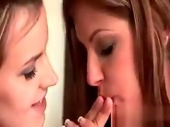 Appealing lesbian gets twat finger fucked video on WebcamWhoring.com