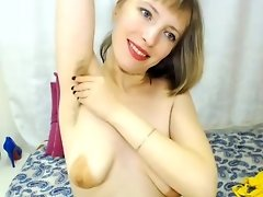 Taley showhing Hairy Armpits and Bush video on WebcamWhoring.com
