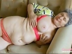 OmaHoteL Extra Hairy Granny Seductive Striptease video on WebcamWhoring.com
