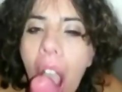 Italian Teen Blowjob in a Public Toilet video on WebcamWhoring.com