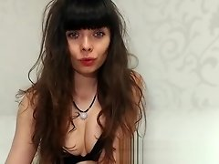 Moist glamour pussy gearing up for solo masturbation fun video on WebcamWhoring.com