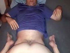 Hubby filming me while fucki... video on WebcamWhoring.com