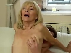 Sexy Granny and young man video on WebcamWhoring.com