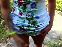 Cute Girl Fucking In The Park - SexySuArt video on WebcamWhoring.com