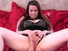 Mommy Rubbing Her Clit and Having a Good Orgasm video on WebcamWhoring.com