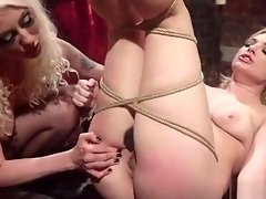 Blonde lesbian has dream fantasy anal sex video on WebcamWhoring.com