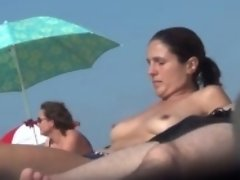 """Beach French Couple incredible Boobs 07"" video on WebcamWhoring.com"
