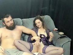 Smoking with the man video on WebcamWhoring.com