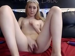 Private homemade masturbation, dildos/toys xxx record with hottest Innocent Abby video on WebcamWhoring.com