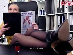 LETSDOEIT - Naughty German Secretary Prone Boned In Her Office video on WebcamWhoring.com