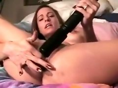 Amateur wife squirts all over the bed video on WebcamWhoring.com