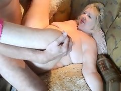 Old couple having a dirty sex on the couch video on WebcamWhoring.com