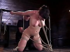 Grueling Punishment in Brutal Bondage Makes a Happy Slut video on WebcamWhoring.com