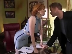 Mob anal fucks redhead with his balls video on WebcamWhoring.com