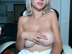 Submissive Sex Slave Masturbates and Sucking BIG WHITE COCK video on WebcamWhoring.com