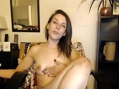 Solo fetish redeheaded slut toys her pussy with huge dildo video on WebcamWhoring.com