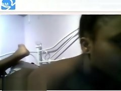 Omegle - Hot black teen masturbate video on WebcamWhoring.com
