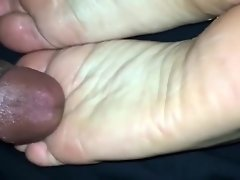 My Cute Tiny Feet Massaged By BF Dick video on WebcamWhoring.com