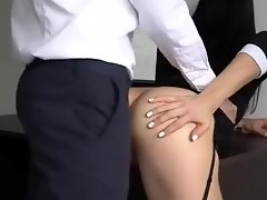 Anal Creampie for Sexy Secretary, Boss Fucked her Tight Pussy and Ass 1080p video on WebcamWhoring.com