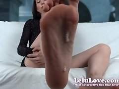 Lelu Love-Worship My Feet Soles And Spit video on WebcamWhoring.com