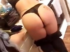 Girl giving friend spanking on periscope video on WebcamWhoring.com