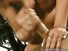 Outdoor handjob In The Jungle With Blonde MILF video on WebcamWhoring.com