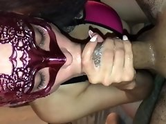 SNOWBUNNY GIVES SLOPPY DEEPTHROAT TO  BF WITH CUM EXPLOSION **UNCUT** video on WebcamWhoring.com