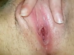 Toothbrush Masturbation - Watch Wet Hairy Pussy in Close Up video on WebcamWhoring.com