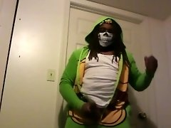 Cosplay Turtle Tease video on WebcamWhoring.com