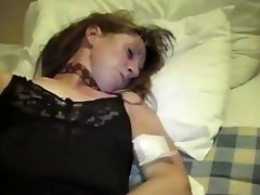 Milf cucumber and facial video on WebcamWhoring.com
