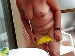 Mature balcony strip.mp4 video on WebcamWhoring.com