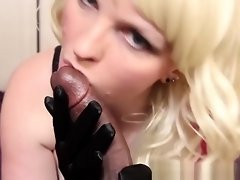Soft Silky Gloves...Hard Black Cock video on WebcamWhoring.com