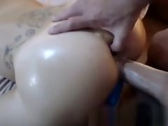 Oiled camslut takes a huge boner up her anal hole video on WebcamWhoring.com