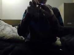 Smoking Some Weed video on WebcamWhoring.com