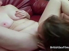 Three British woman have a lesbian threesome video on WebcamWhoring.com