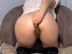 young brunette fucking ass cell phone video on WebcamWhoring.com