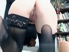 Punk Tattooed Chick Fucks Dildo To Climax video on WebcamWhoring.com