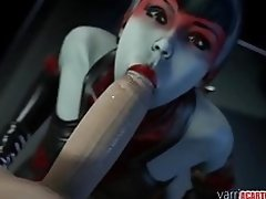 Brunette 3D babe Countess gets mouth and pussy drilled video on WebcamWhoring.com