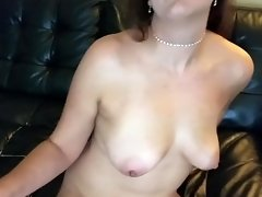 Slut gargles and drinks 28 loads of cum for New Years video on WebcamWhoring.com
