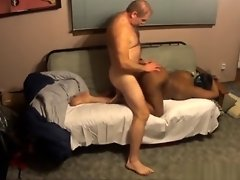 Interracial Couple Made A Naughty Doggy Homemade Movie video on WebcamWhoring.com