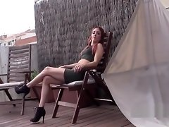 Skinny redhead takes police cock video on WebcamWhoring.com